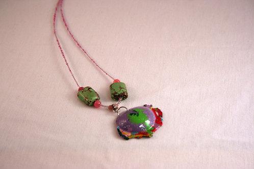 Acrylic Paint Goober Necklace #2