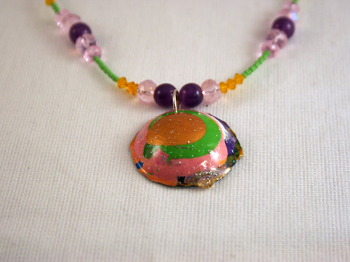 Acrylic Paint Goober Necklace