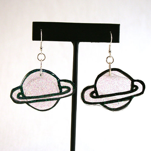 Outer Space Planet Earrings