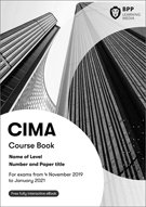 CIMA-E1 Managing Finance in a Digital World Books