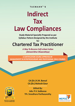 Indirect Tax Law Compliances