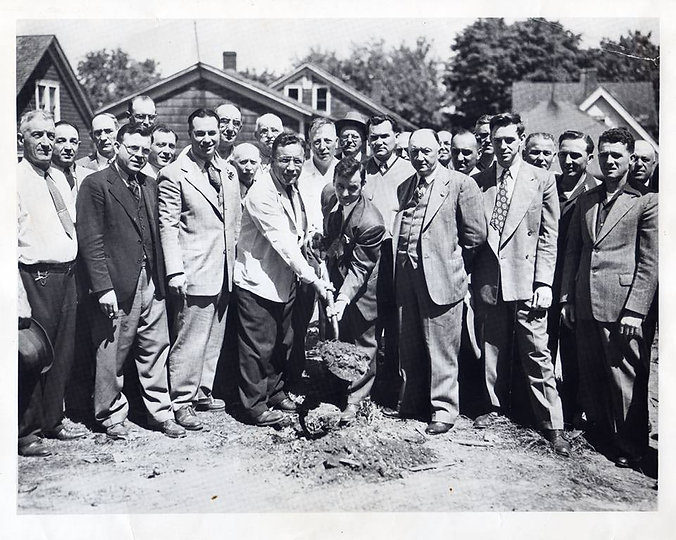 tyrol club ground breaking 1949.jpg
