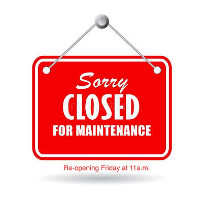 closed-maintenance-sign-vector-isolated-