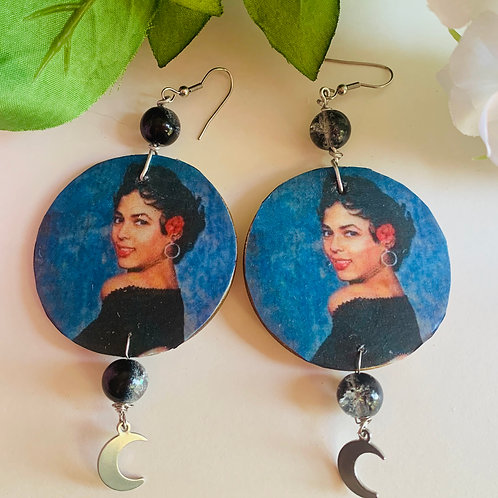 Black Grrrl Magick Earrings