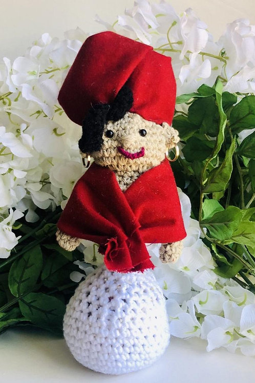 Voodoo Queen Marie Laveau Altar Doll/Custom Altar Doll