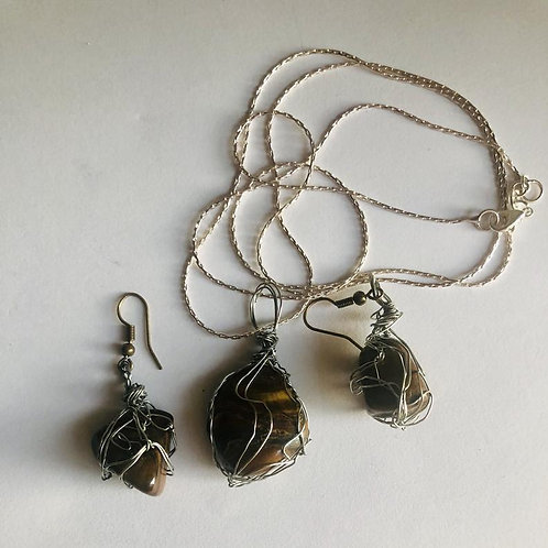 Tigers Eye/Rose Quartz/Amethyst/Agate/Crystal Jewelry