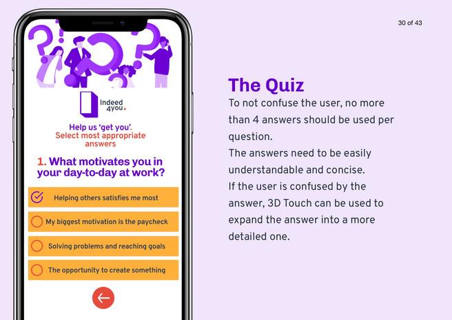App Quiz Design