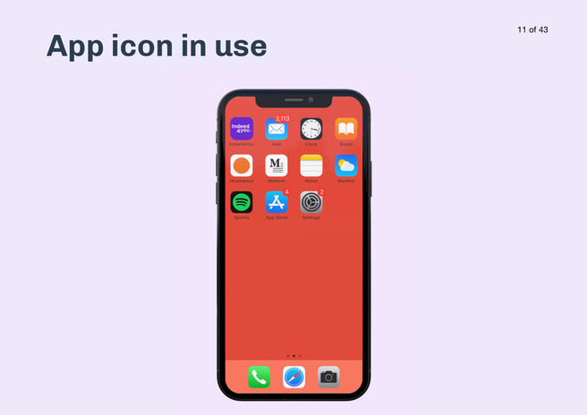 Icon in use