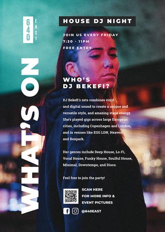 DJ Nights Poster