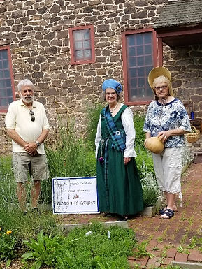 June 19, 2021: Historic Kitchen Garden at White Horse tavern