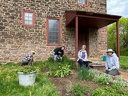 Morlatton Village Herb Bed Volunteers