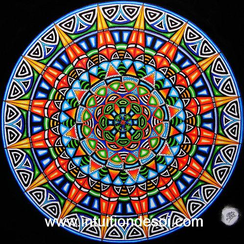 Mandala 5 «La Confiance dans l'Abondance»