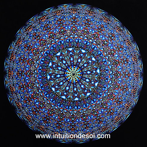 "Mandala 2 ""Perception Extratemporelle"""