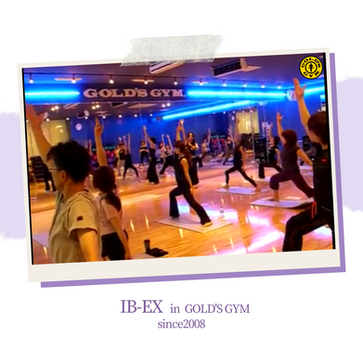IB-EX in GOLD'S GYM