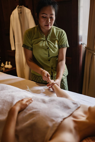 Tajski Masaż dłoni