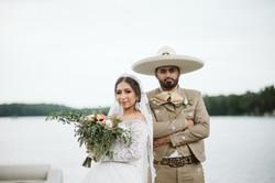 latin wedding on lake in Savannah, GA