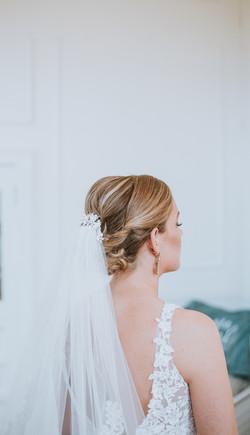 Bride in Savannah, GA.