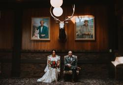 Dramatic wedding photo in Savannah,GA