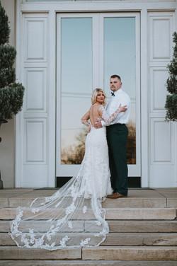 Wedding dress detail shots in Savannah,GA