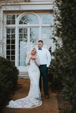 Classic romantic wedding Savannah,GA.