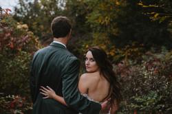 Romantic fall wedding in Savannah, GA