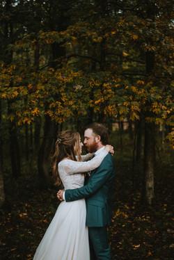 Fall wedding in Savannah, GA