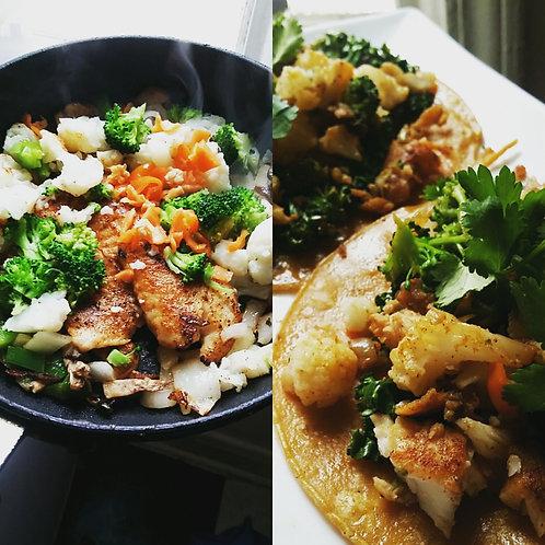 Single Meal Plan-(Dinner serves 1 individual 3 meals per week)
