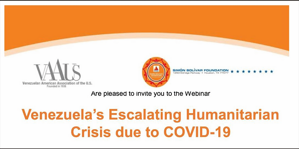 Venezuela's Escalating Humanitarian Crisis, in partnership with Simon Bolivar foundation date