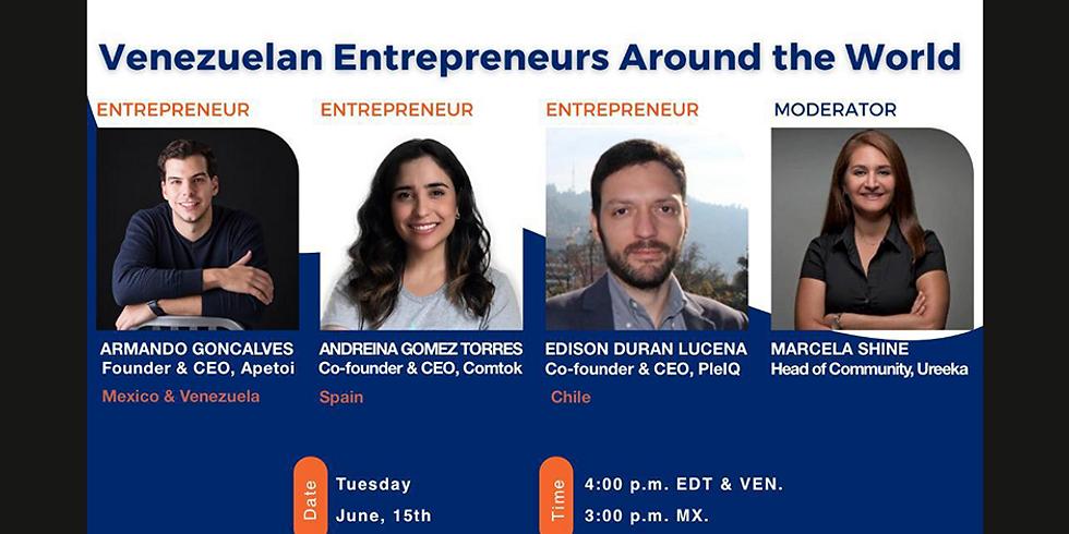 Venezuelan Entrepreneurs Around the World
