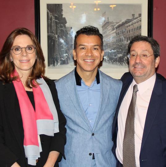 Breakfast with Ambassador Francisco Santos