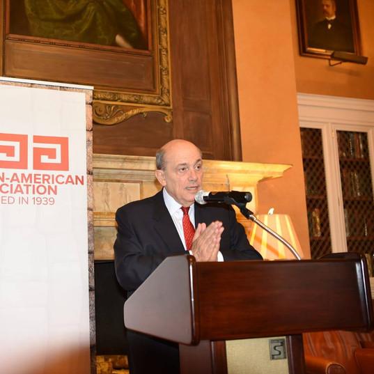 Welcoming Breakfast for Ambassador of Peru, Hugo de Zela