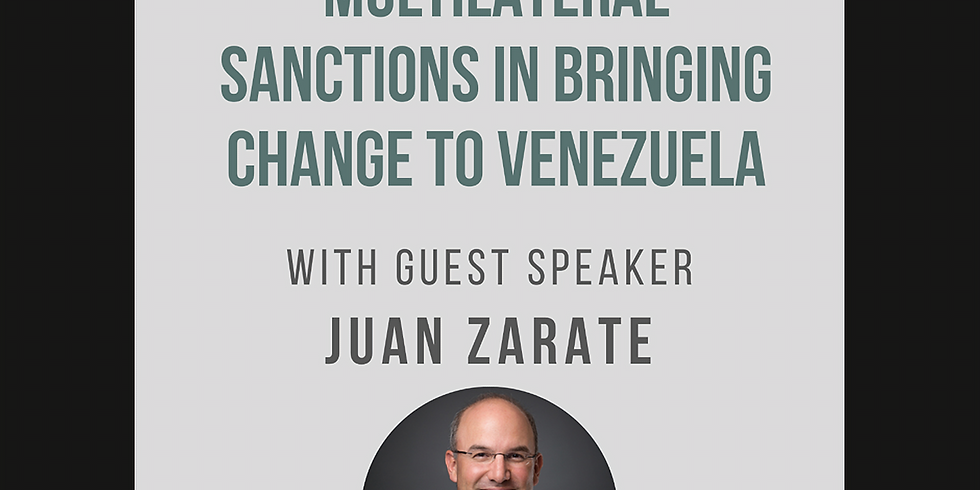The Role of U.S. and Multilateral Sanctions in Bringing Change to Venezuela
