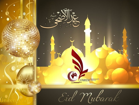 Happy Eid ul-Fitr  from UNIREM Home Health Care...2017