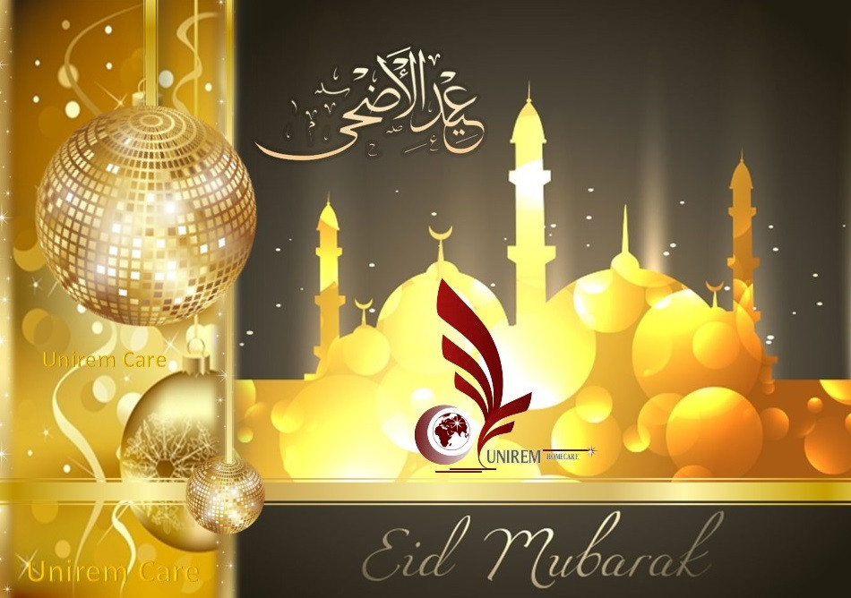 Happy Eid ul-Fitr  from UNIREM Home Health Care
