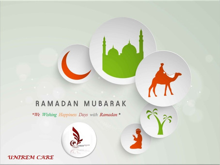 UNIREM Home Health Care wish better health for you and for your patient at home...Ramadan Kareem