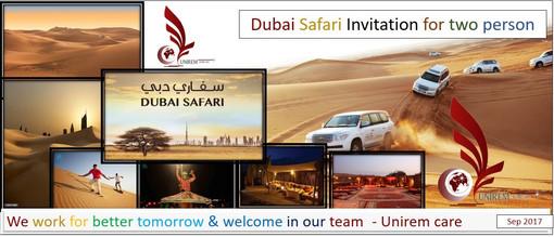 Dubai Safari for UNIREM Home Health Care