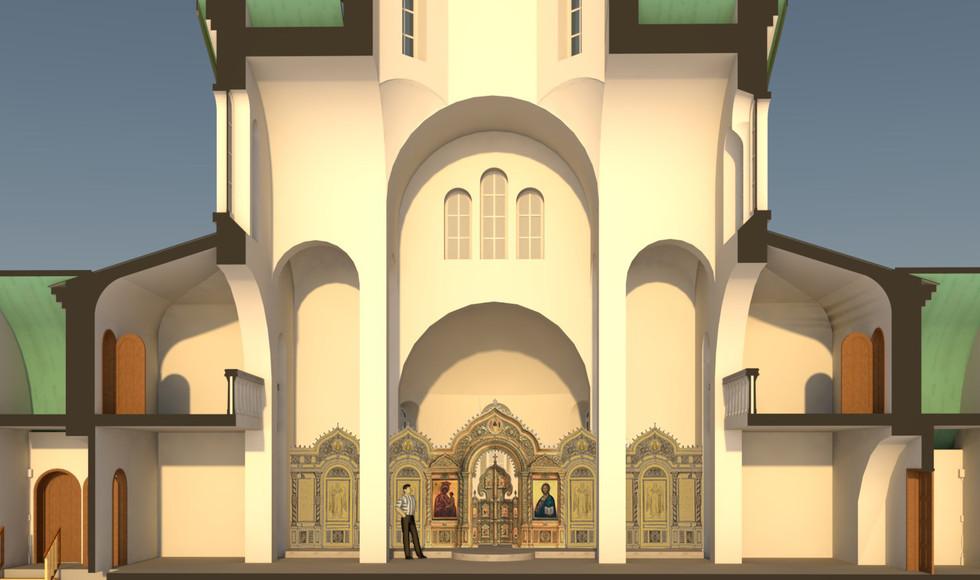 Иконостас Храм Св. Луки с подвалом АЛЬБО