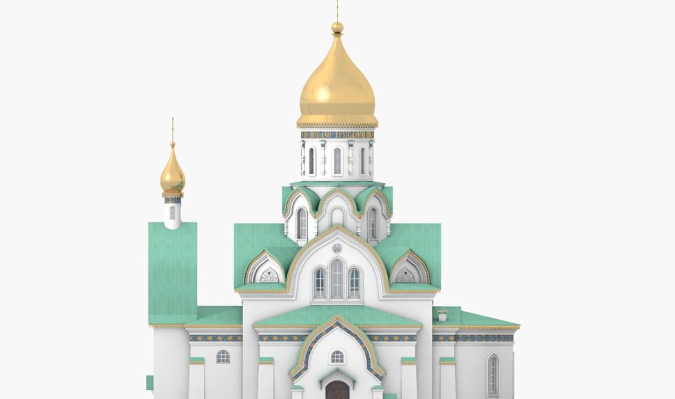 Храм Св. Луки МОДЕЛЬ для Альбома июньи18