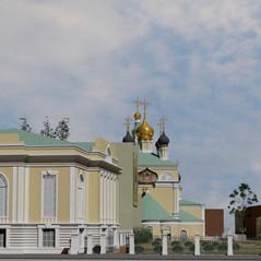 Хр.Троицы в Кожевниках Проект благоустро
