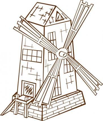 windmill_clip_art_16955