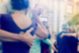 Tangokolumne Die richtige Tanzhaltung