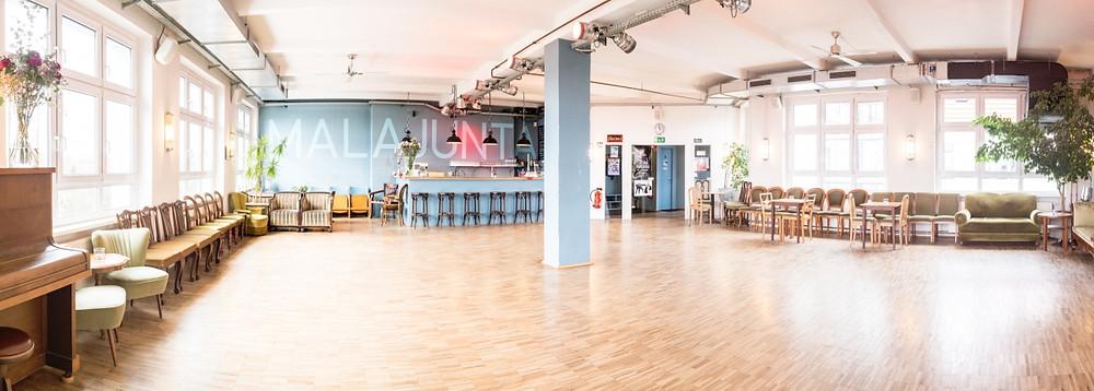 Tanzsaal vom Tangostudio Mala Junta in Berlin-Schöneberg