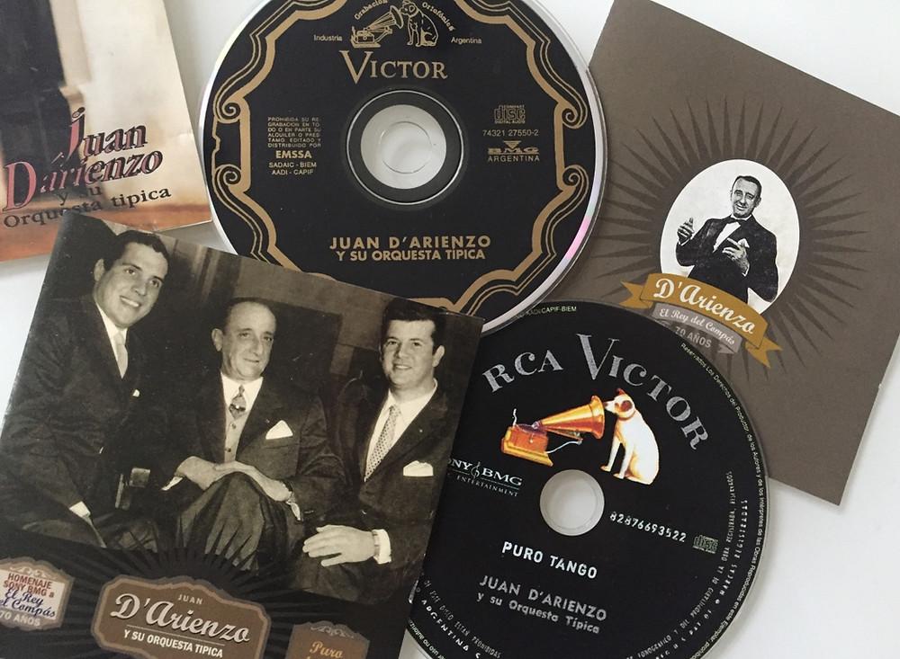 Tangomusik von Juan D'Arienzo