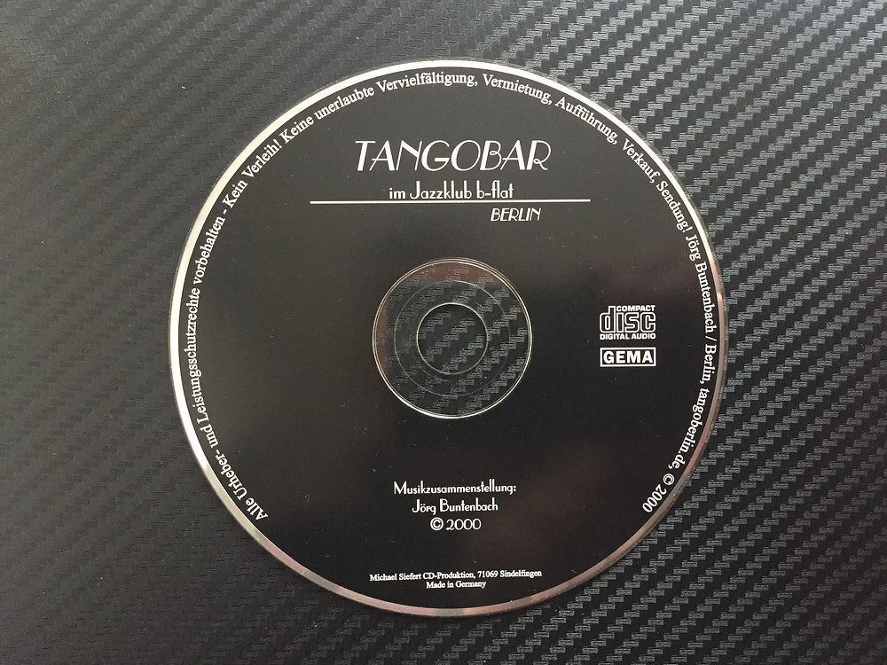 CD Tangobar im Jazzklub b-flat, Berlin aus dem Jahr 2000