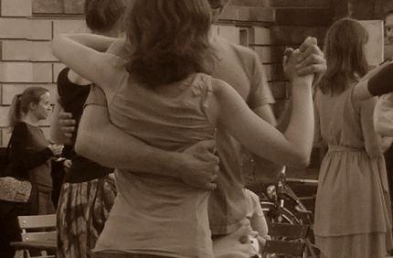 Wenn das Leben Tango mit Dir tanzt