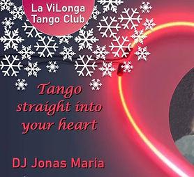 Online Milonga: Tango straight into you heard