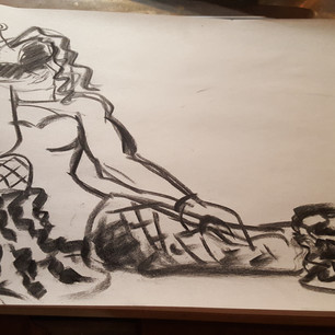 Costumed Figure Drawing 1/5