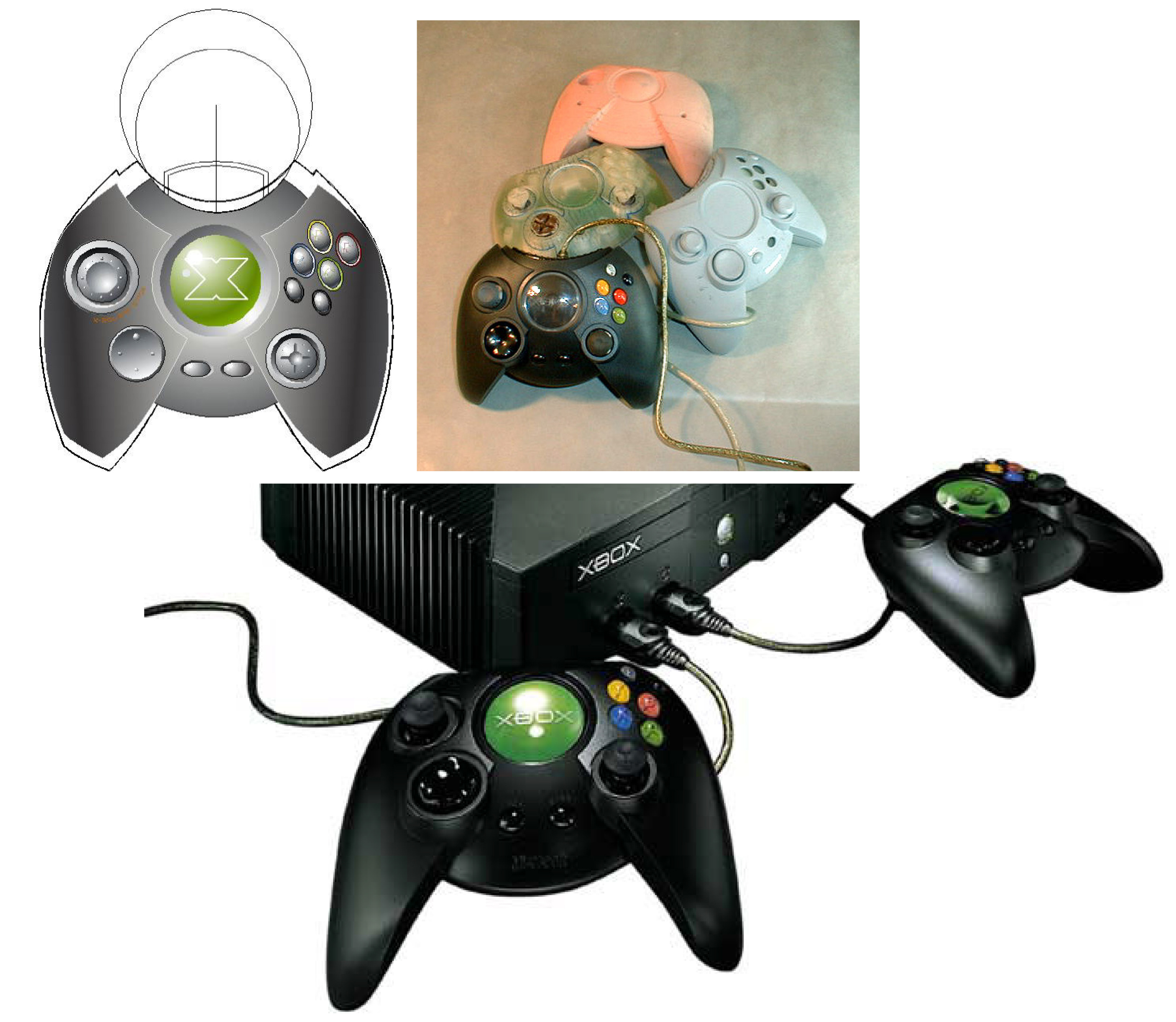 XBOX Controller Product Design
