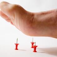 Douleur aux pieds
