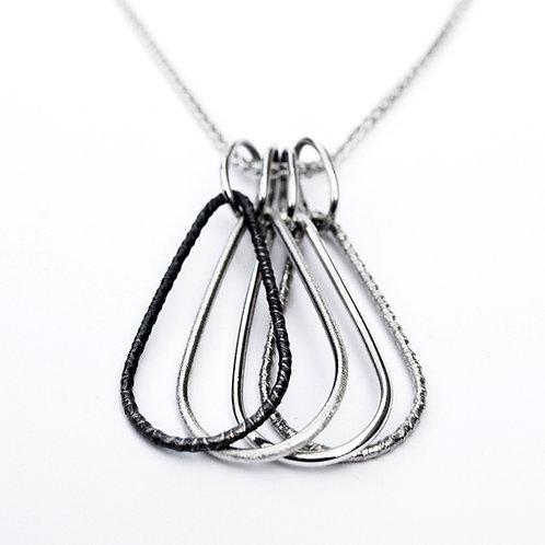 Russian pear drop pendant